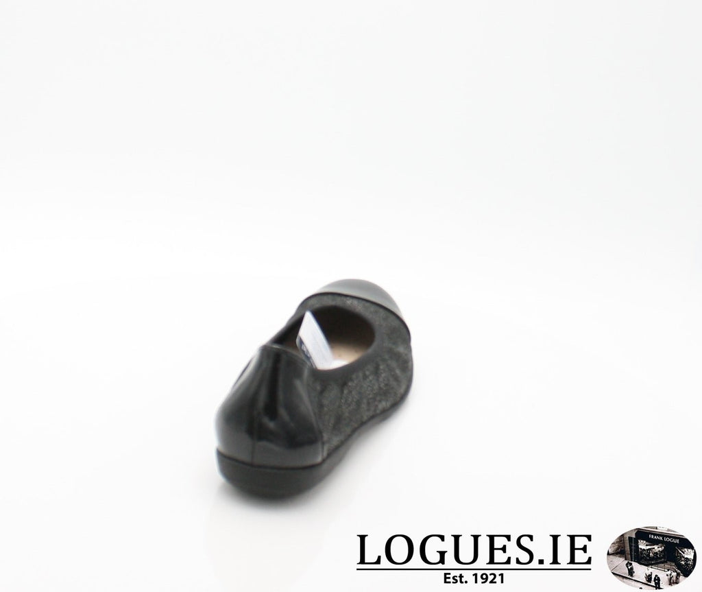 22152 CAPRICE SS18LadiesLogues Shoes011 BLACK MULTI / 41 = 7/8 UK