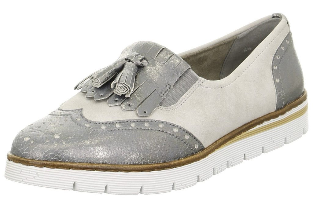 ARA 50434 PortmoreLadiesLogues Shoes22 76 Fucile,Pebble / 9 / synthetic