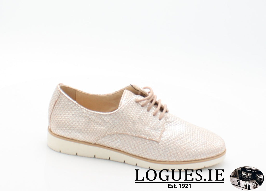 23608 CAPRICE SS18LadiesLogues Shoes540 ROSE STRUCTURE / 8 UK - 42 EU