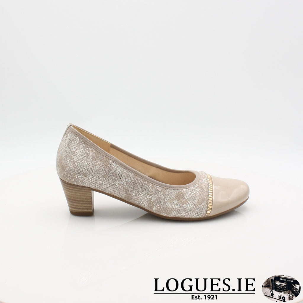 26.184 GABOR SS19LadiesLogues Shoes32 Puder/Sand / 4