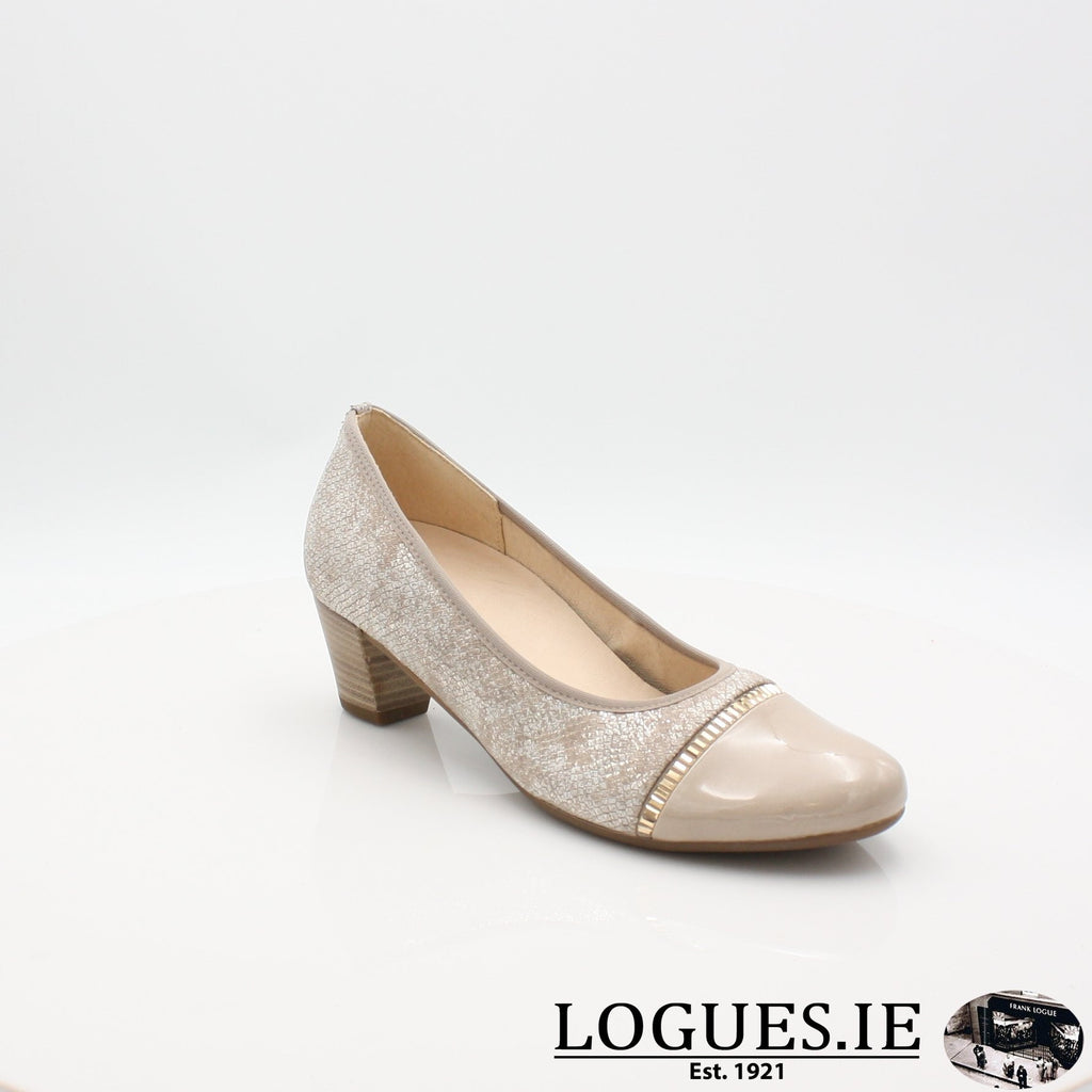 26.184 GABOR SS19LadiesLogues Shoes32 Puder/Sand / 4½