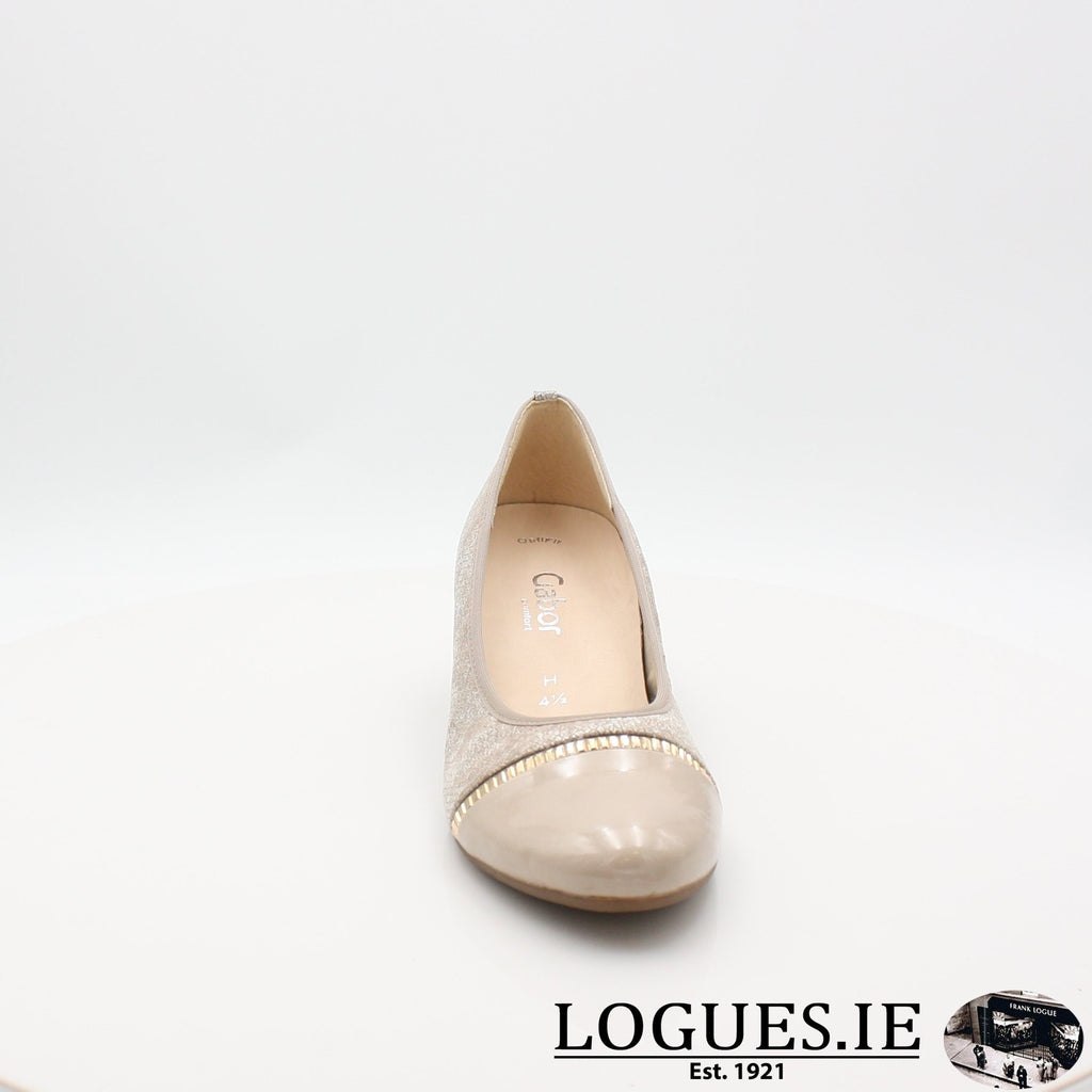 26.184 GABOR SS19LadiesLogues Shoes32 Puder/Sand / 5
