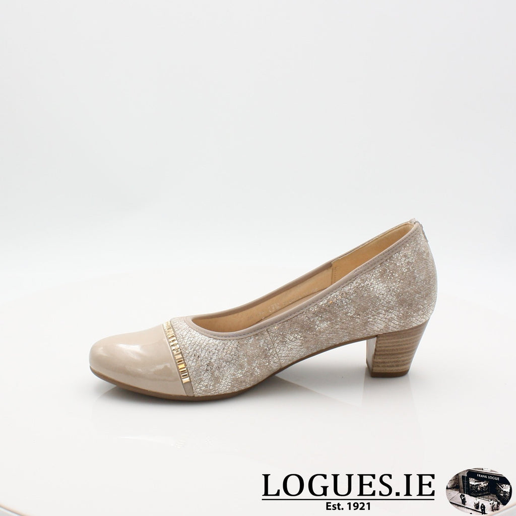 26.184 GABOR SS19LadiesLogues Shoes32 Puder/Sand / 6