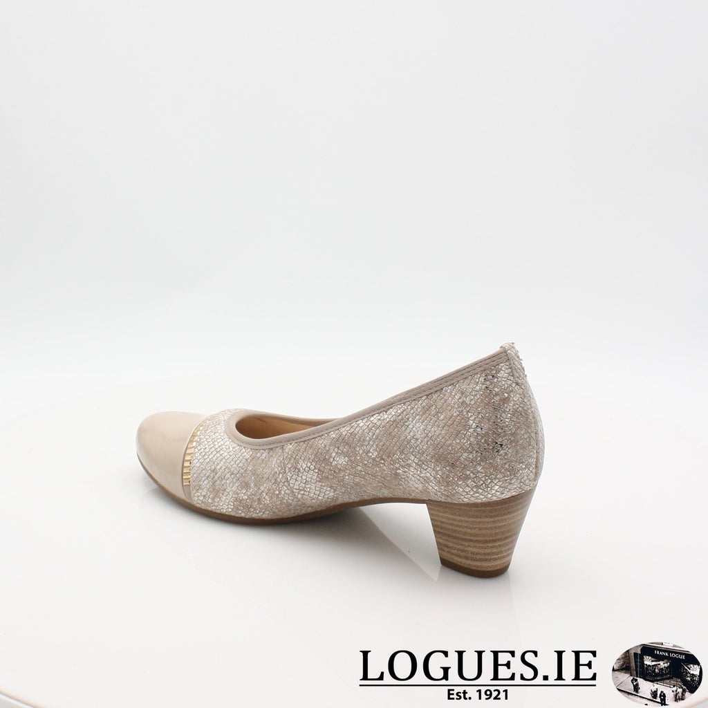 26.184 GABOR SS19LadiesLogues Shoes32 Puder/Sand / 6½