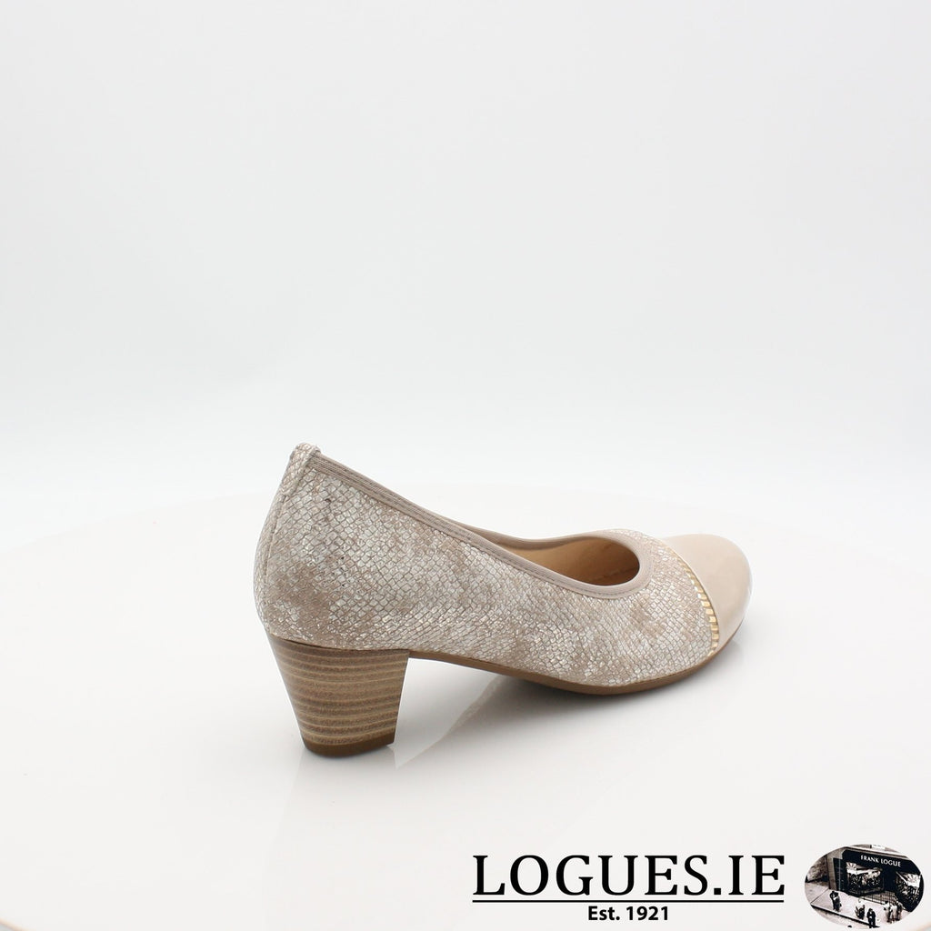 26.184 GABOR SS19LadiesLogues Shoes32 Puder/Sand / 7½