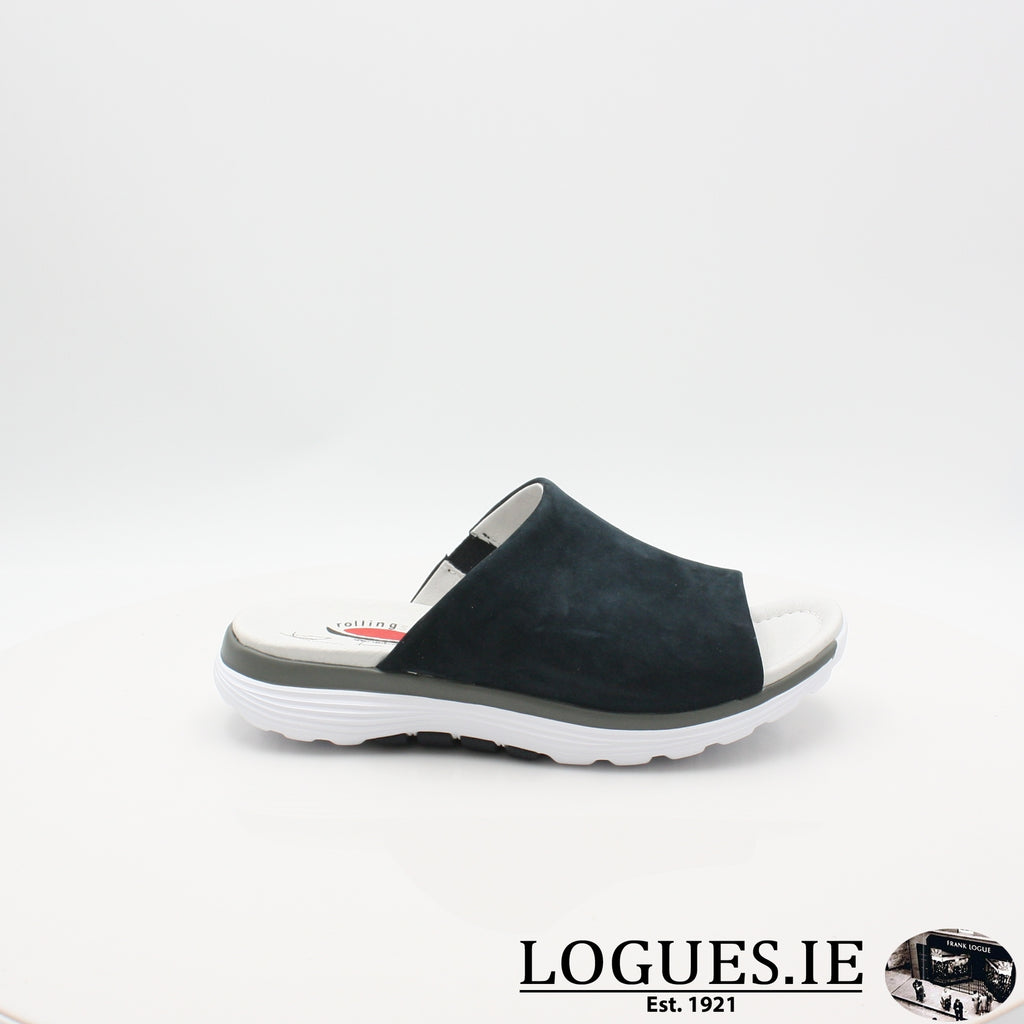 26.910 GABOR SS19LadiesLogues Shoes46 Nightblue / 6½