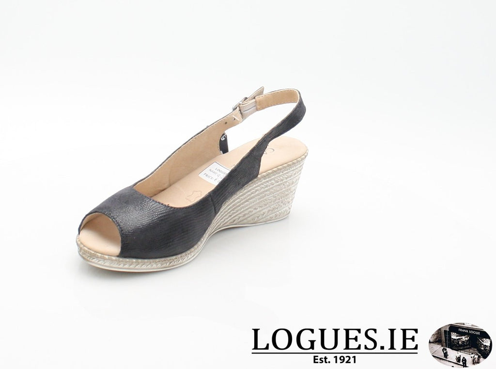 28350 CAPRICE SS18LadiesLogues ShoesOCEAN 806 / 39 = 6 UK