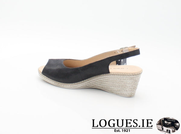 28350 CAPRICE SS18LadiesLogues ShoesOCEAN 806 / 41 = 7/8 UK