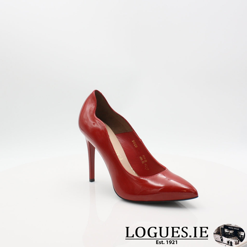 3059 SALA SS19LadiesLogues ShoesRED / 37 = 4 UK
