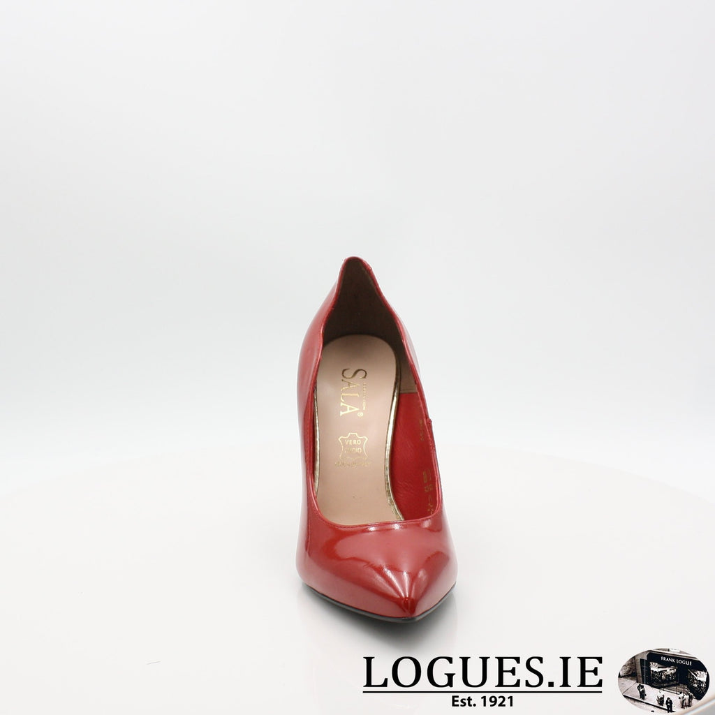 3059 SALA SS19LadiesLogues ShoesRED / 37.5 =4.5 UK