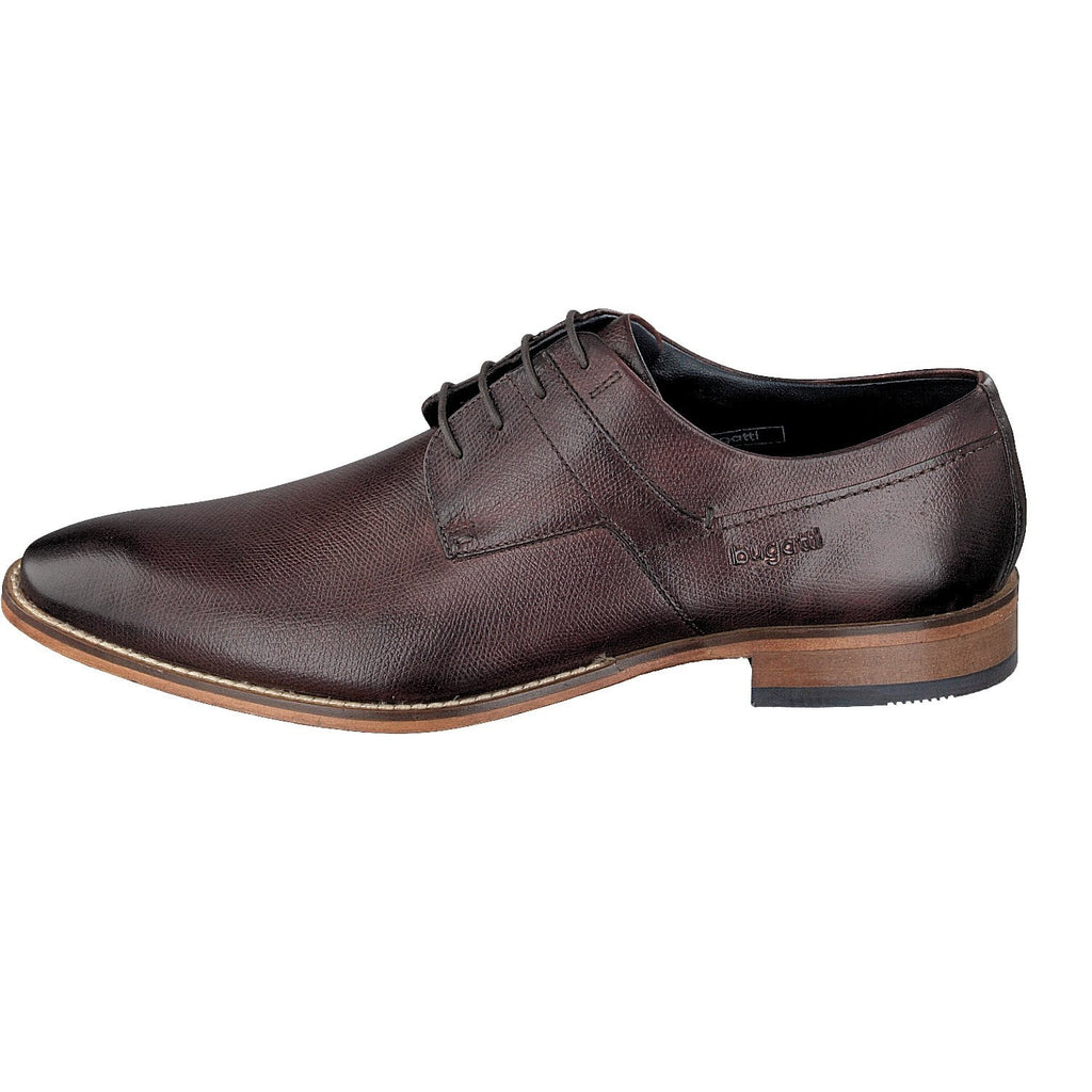 BUGATTI 19301 A/W 16-Mens-BUGATTI SHOES( BENCH GRADE )-3500 Brown-41-Logues Shoes