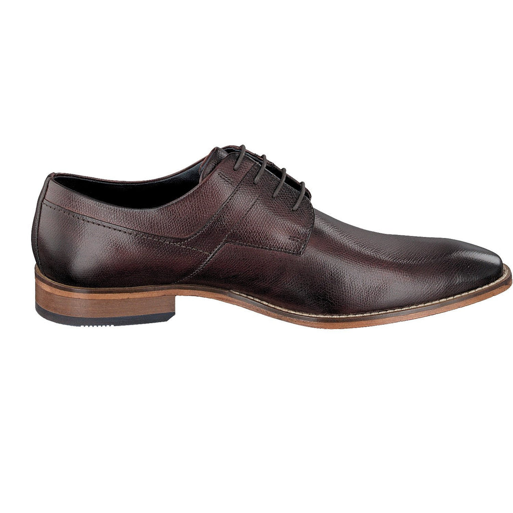 BUGATTI 19301 A/W 16-Mens-BUGATTI SHOES( BENCH GRADE )-3500 Brown-44-Logues Shoes