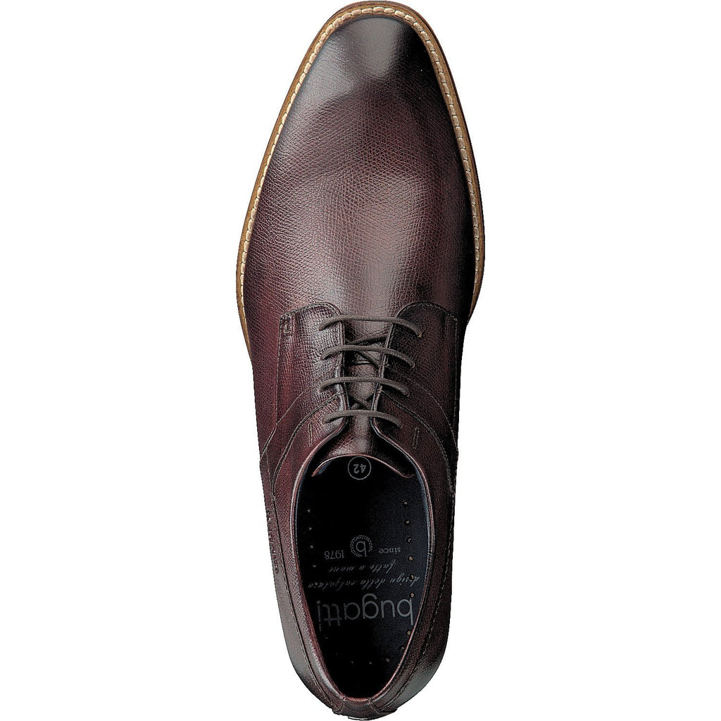 BUGATTI 19301 A/W 16-Mens-BUGATTI SHOES( BENCH GRADE )-3500 Brown-46-Logues Shoes