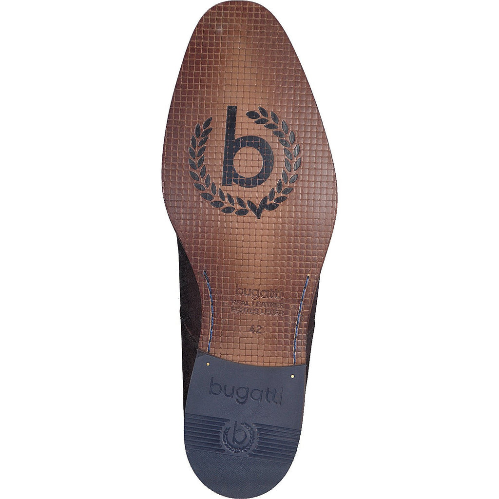 BUGATTI 19301 A/W 16-Mens-BUGATTI SHOES( BENCH GRADE )-3500 Brown-47-Logues Shoes