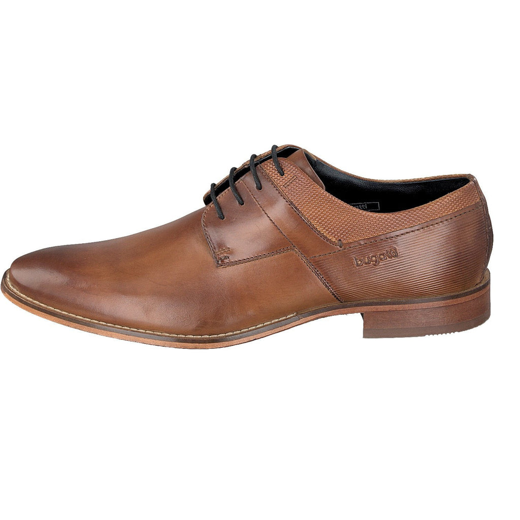 BUGATTI 19301 A/W 16-Mens-BUGATTI SHOES( BENCH GRADE )-6300 Mid Tan-42-Logues Shoes