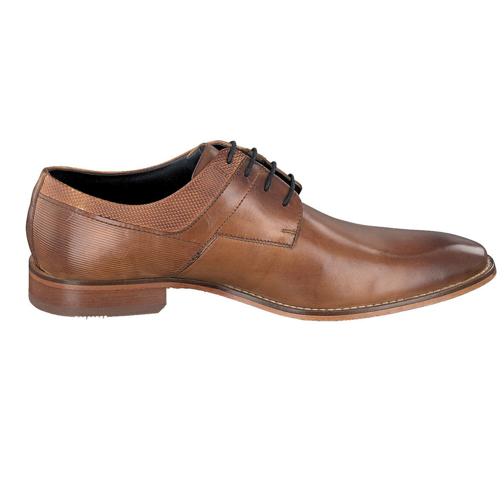 BUGATTI 19301 A/W 16-Mens-BUGATTI SHOES( BENCH GRADE )-6300 Mid Tan-44-Logues Shoes