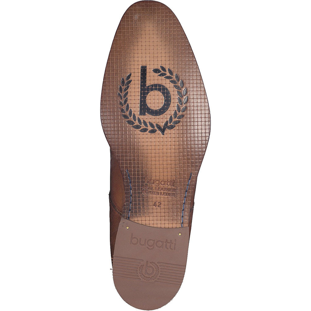 BUGATTI 19301 A/W 16-Mens-BUGATTI SHOES( BENCH GRADE )-6300 Mid Tan-47-Logues Shoes