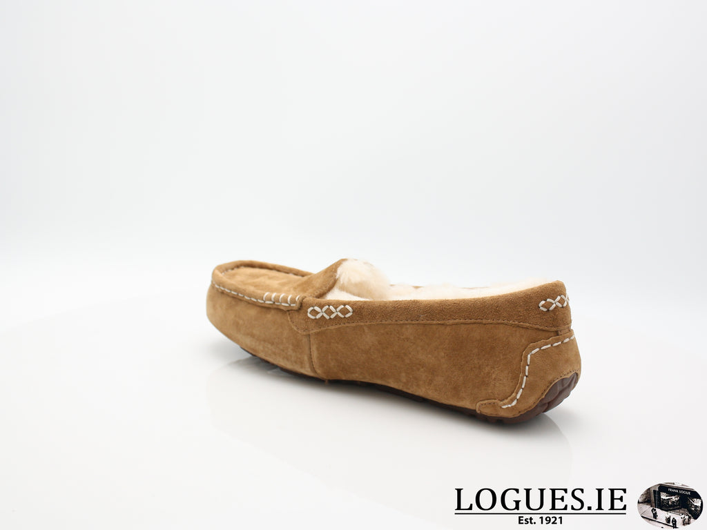 UGGS ANSLEY 3312-Ladies-UGGS FOOTWEAR-CHESNUT-41 EU= 7 IRL== 8.5 UK 10 US-Logues Shoes