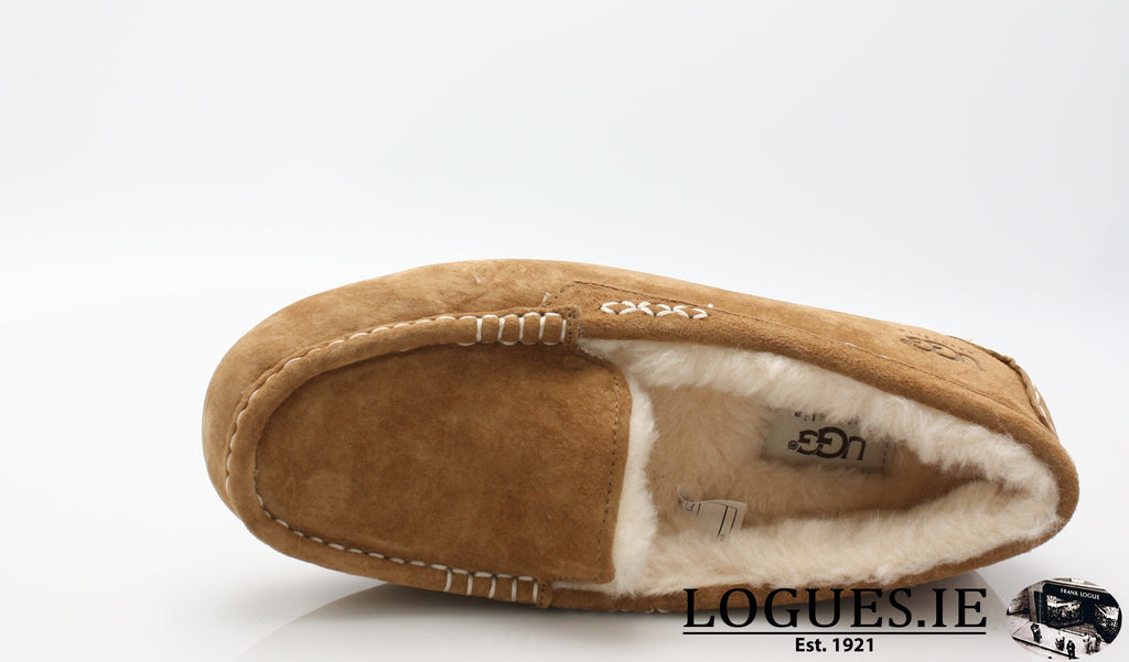 UGGS ANSLEY 3312-Ladies-UGGS FOOTWEAR-CHESNUT-43EU=9 IRL==12 US 10.5 UK-Logues Shoes
