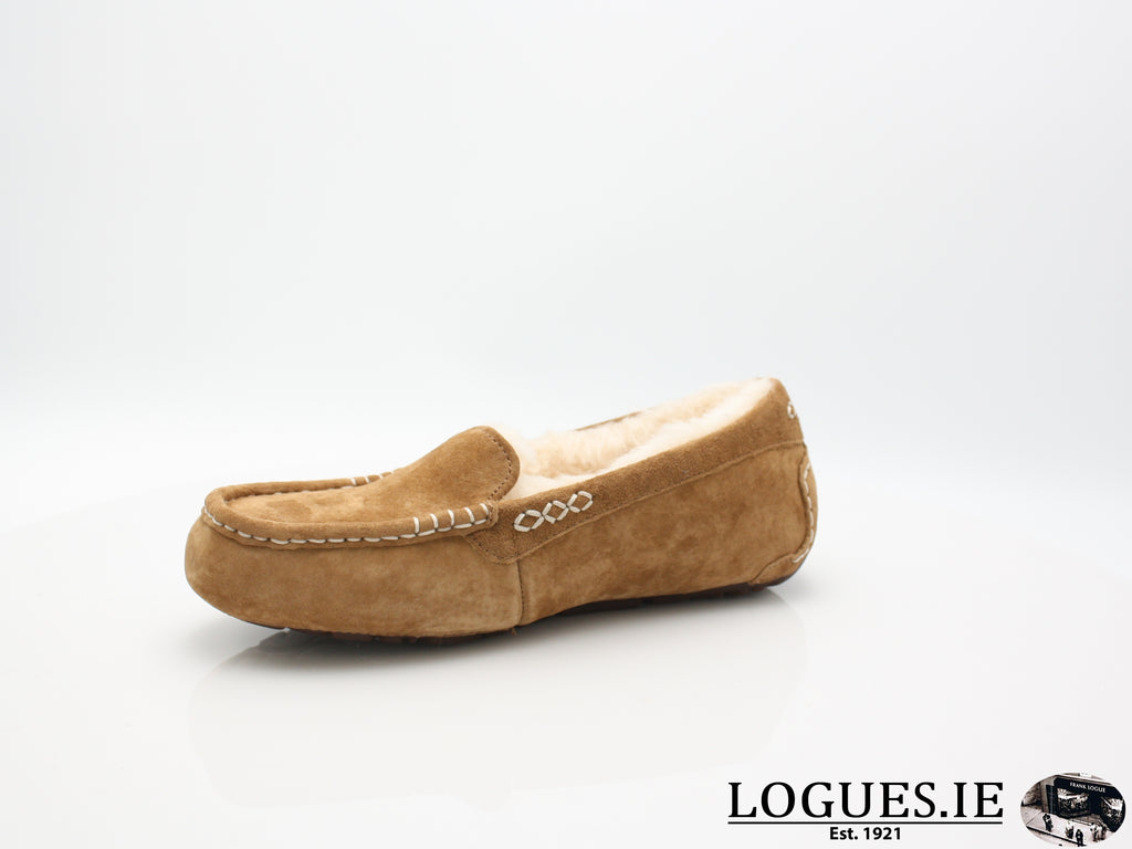 UGGS ANSLEY 3312-Ladies-UGGS FOOTWEAR-CHESNUT-39 EU =5.5/6 IRL== 6.5 UK 8US-Logues Shoes