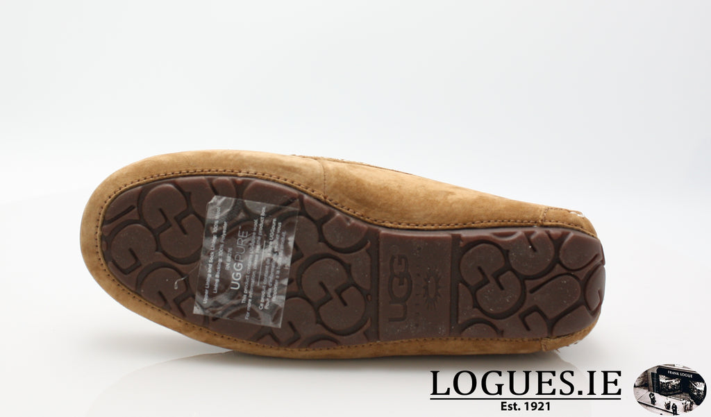 UGGS ANSLEY 3312-Ladies-UGGS FOOTWEAR-CHESNUT-42 EU =8 IRL== 9.5 UK 11US-Logues Shoes