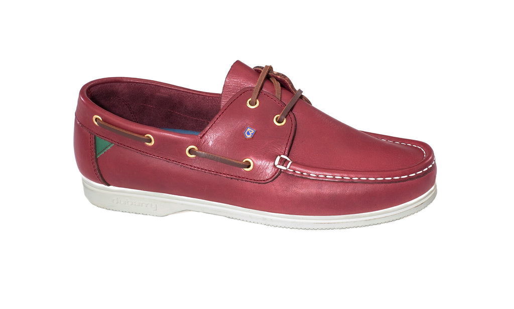 ADMIRALS 3331 DUBARRY-Mens-Dubarry-Burgundy 13-3½ UK-Logues Shoes