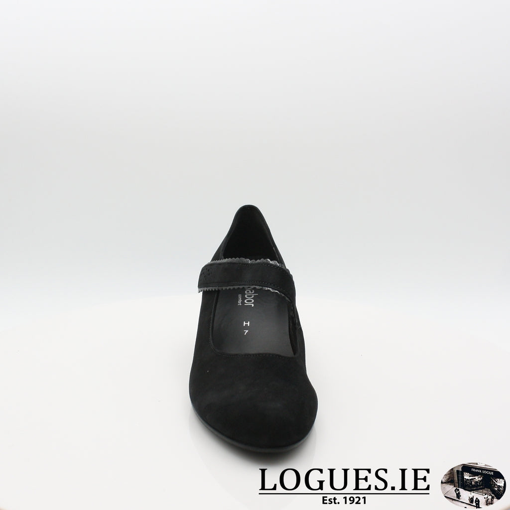 Super 36.148 GABOR 19LadiesLogues Shoes47 Schwarz / 4