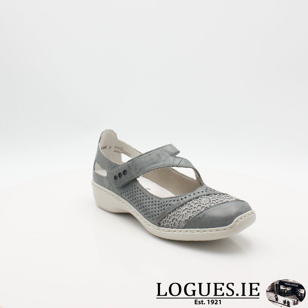41346  RIEKER 19, Ladies, RIEKIER SHOES, Logues Shoes - Logues Shoes.ie Since 1921, Galway City, Ireland.