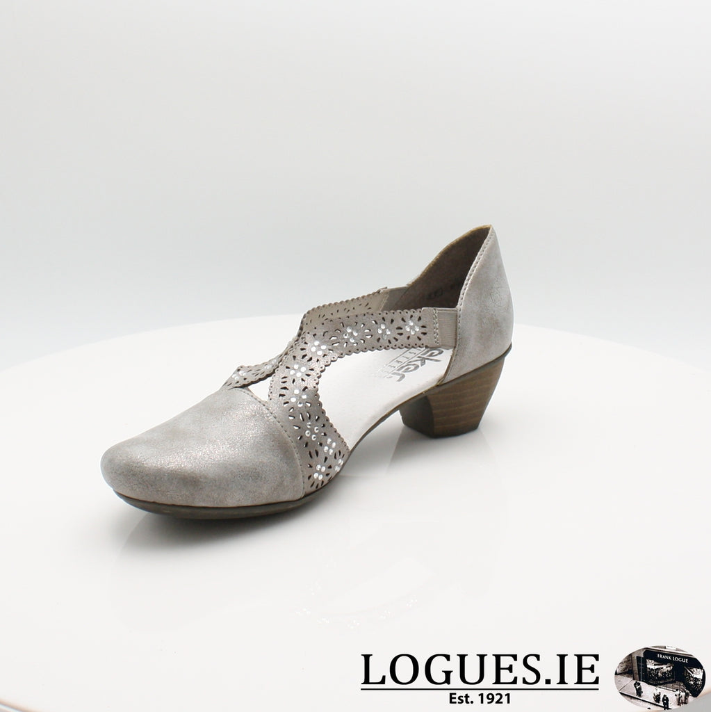 41750 Rieker 20, Ladies, RIEKIER SHOES, Logues Shoes - Logues Shoes.ie Since 1921, Galway City, Ireland.