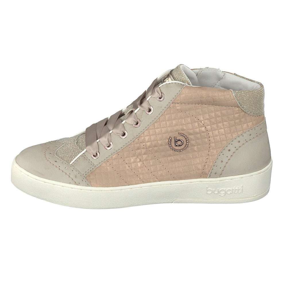 129131 BUGATTI SS18LadiesLogues Shoes5234 BEIGE / 42 = 8 UK
