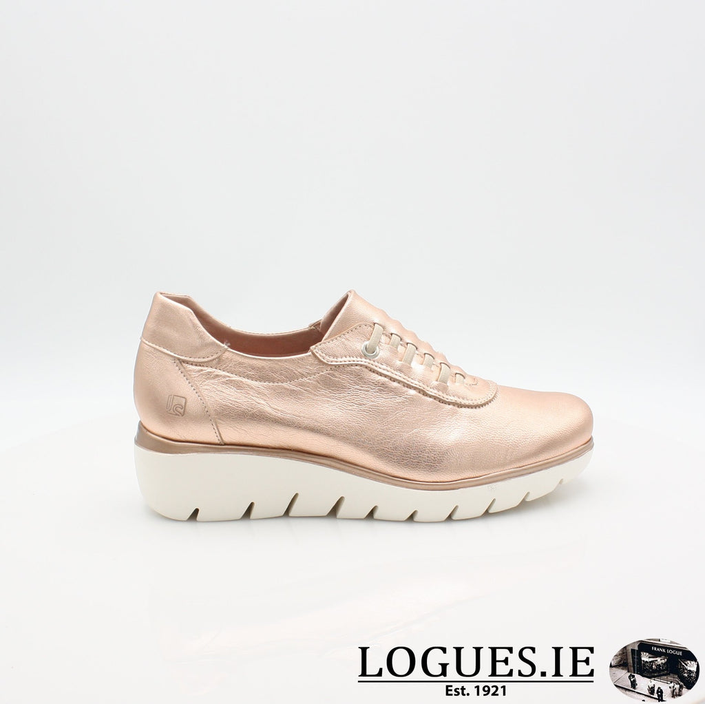 4300 JOSE SAENZ S19LadiesLogues ShoesNUDE METAL / 4 UK -37 EU - 6 US