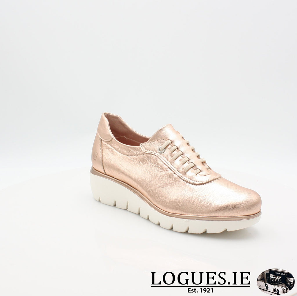4300 JOSE SAENZ S19LadiesLogues ShoesNUDE METAL / 4.5 UK - 37.5 EU - 6.5 US