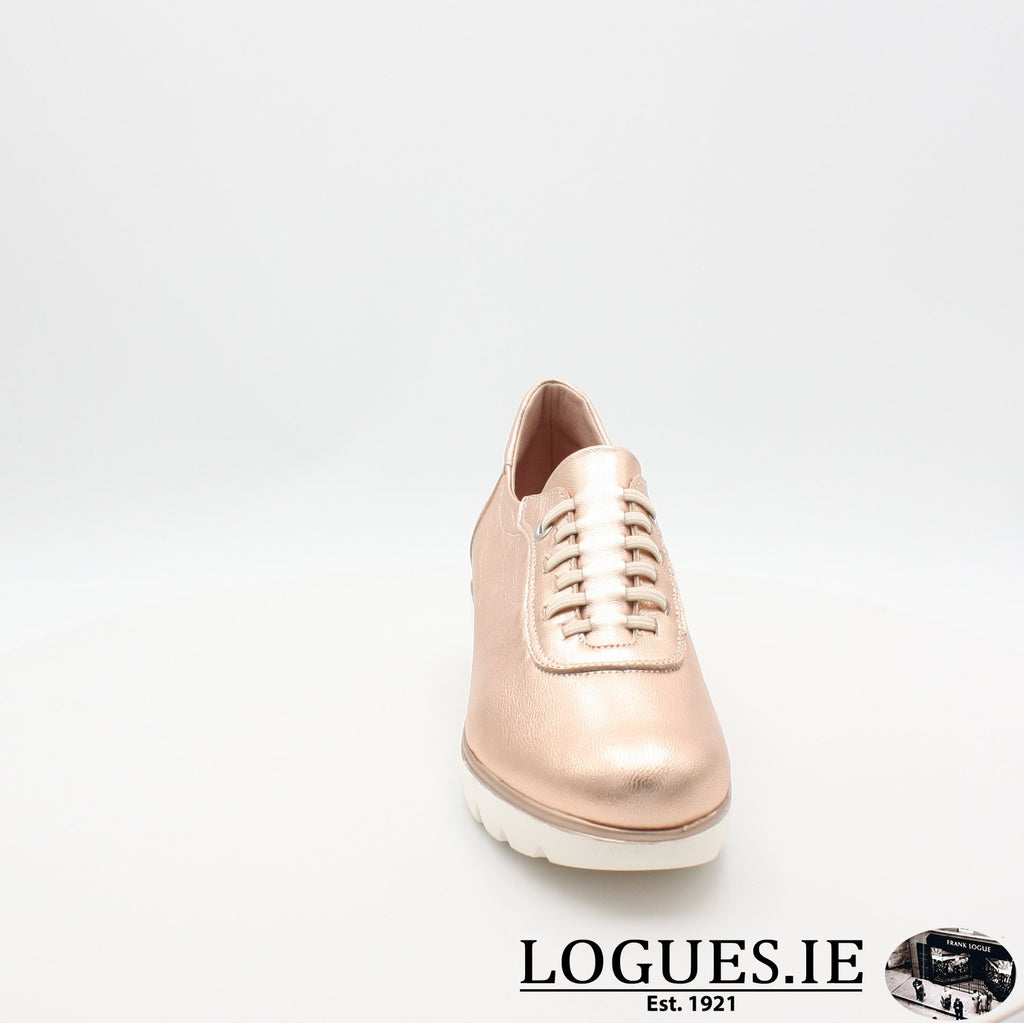 4300 JOSE SAENZ S19LadiesLogues ShoesNUDE METAL / 5 UK- 38 EU- 7 US