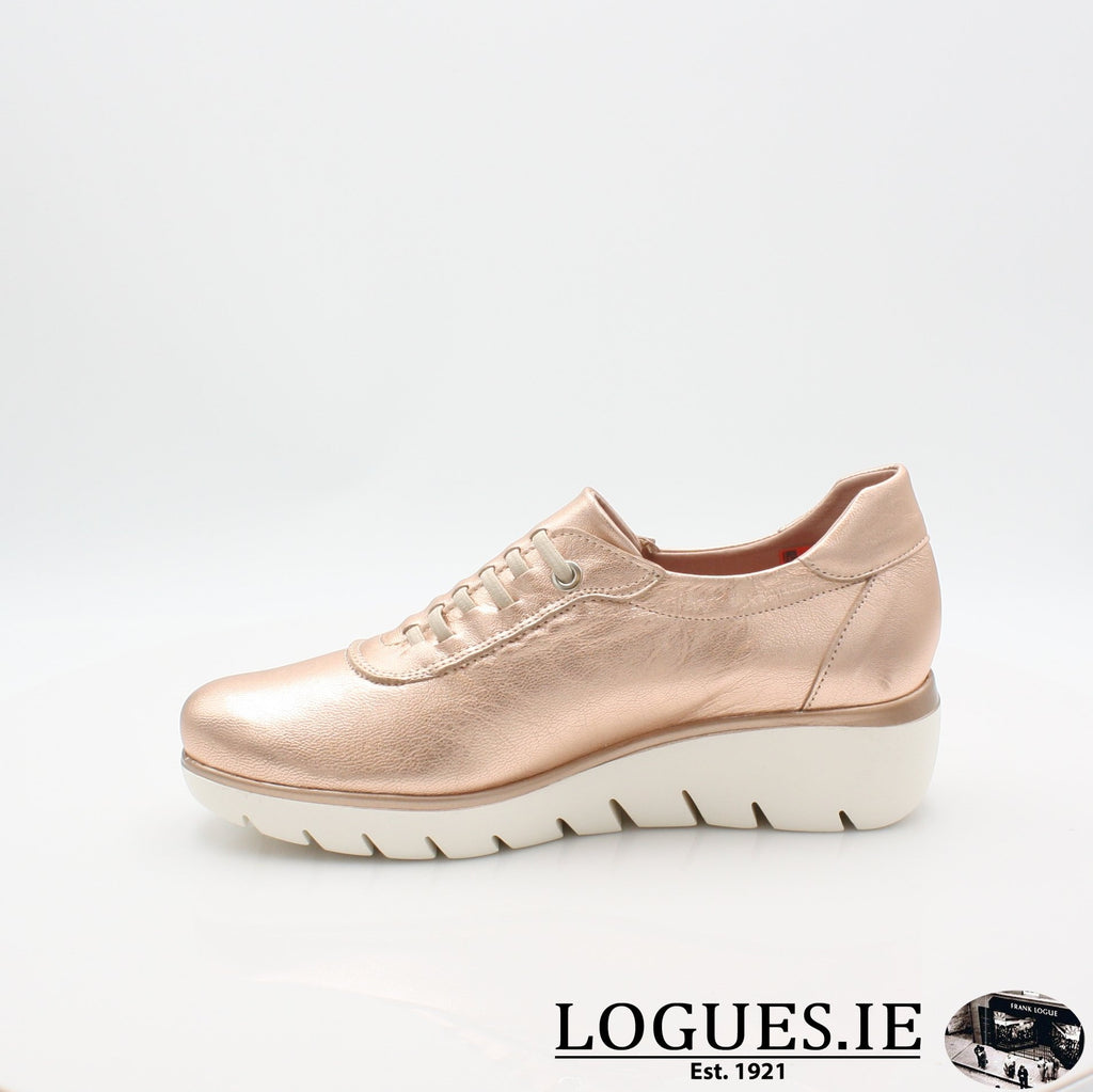 4300 JOSE SAENZ S19LadiesLogues ShoesNUDE METAL / 6 UK- 39 EU - 8 US