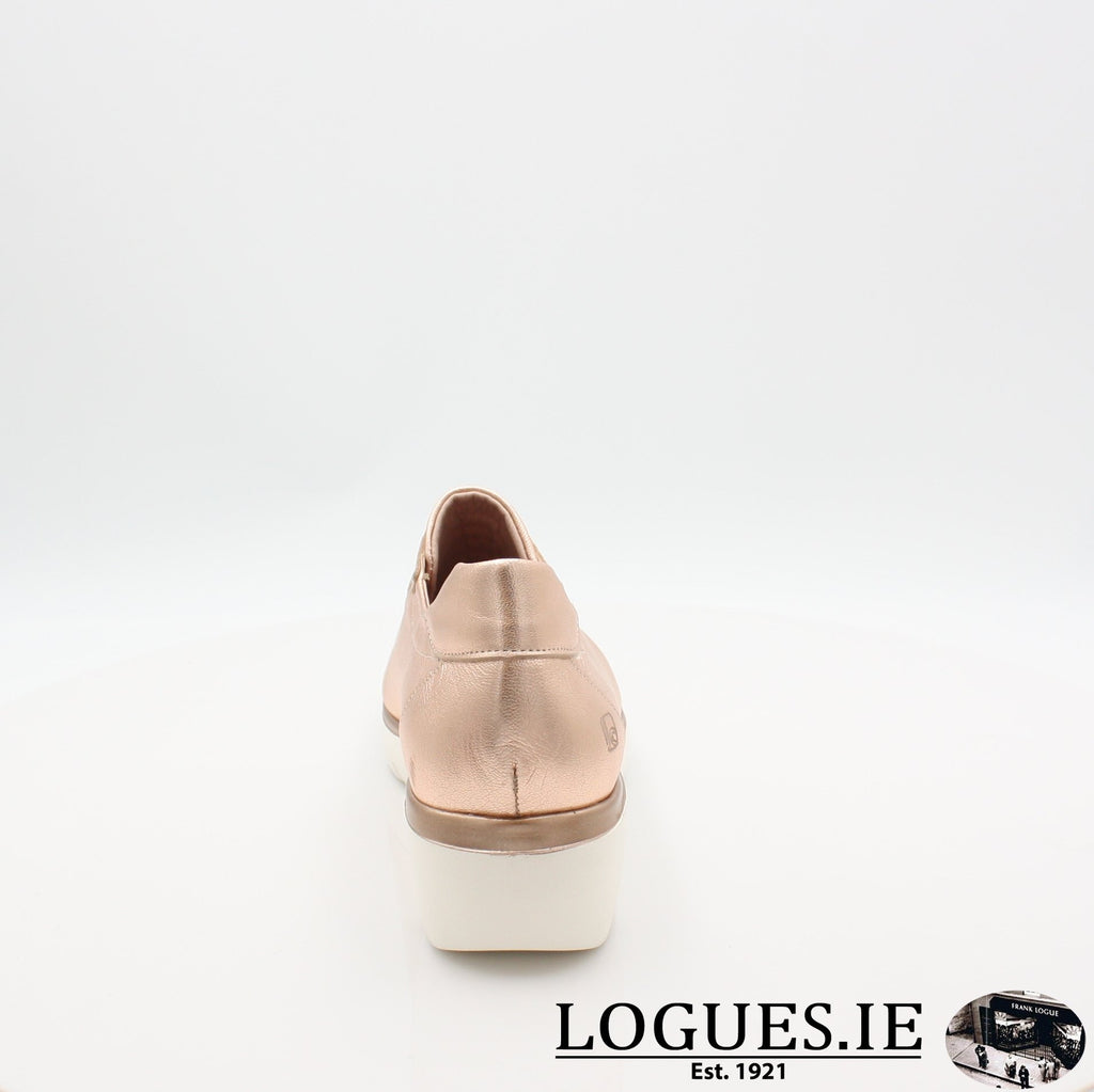 4300 JOSE SAENZ S19LadiesLogues ShoesNUDE METAL / 7 UK- 41 EU - 9 US