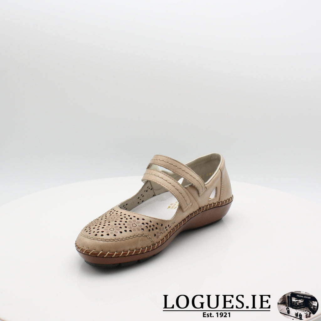 44875 Rieker 20, Ladies, RIEKIER SHOES, Logues Shoes - Logues Shoes.ie Since 1921, Galway City, Ireland.