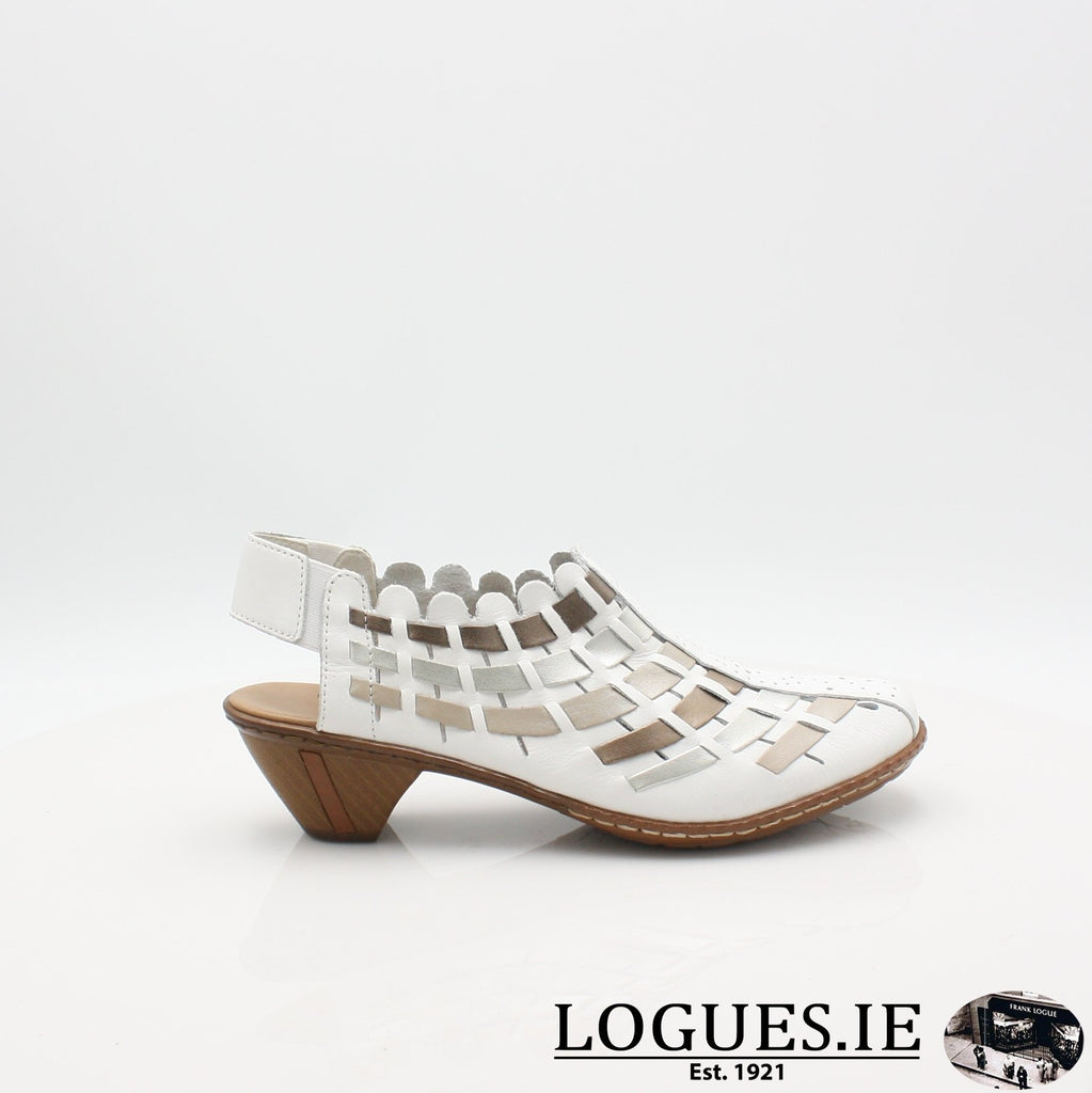 46778  RIEKER 19LadiesLogues Shoes
