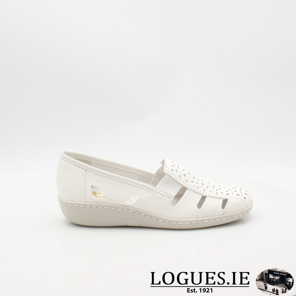 49365  RIEKER 19LadiesLogues Shoesweiss 80 / 39