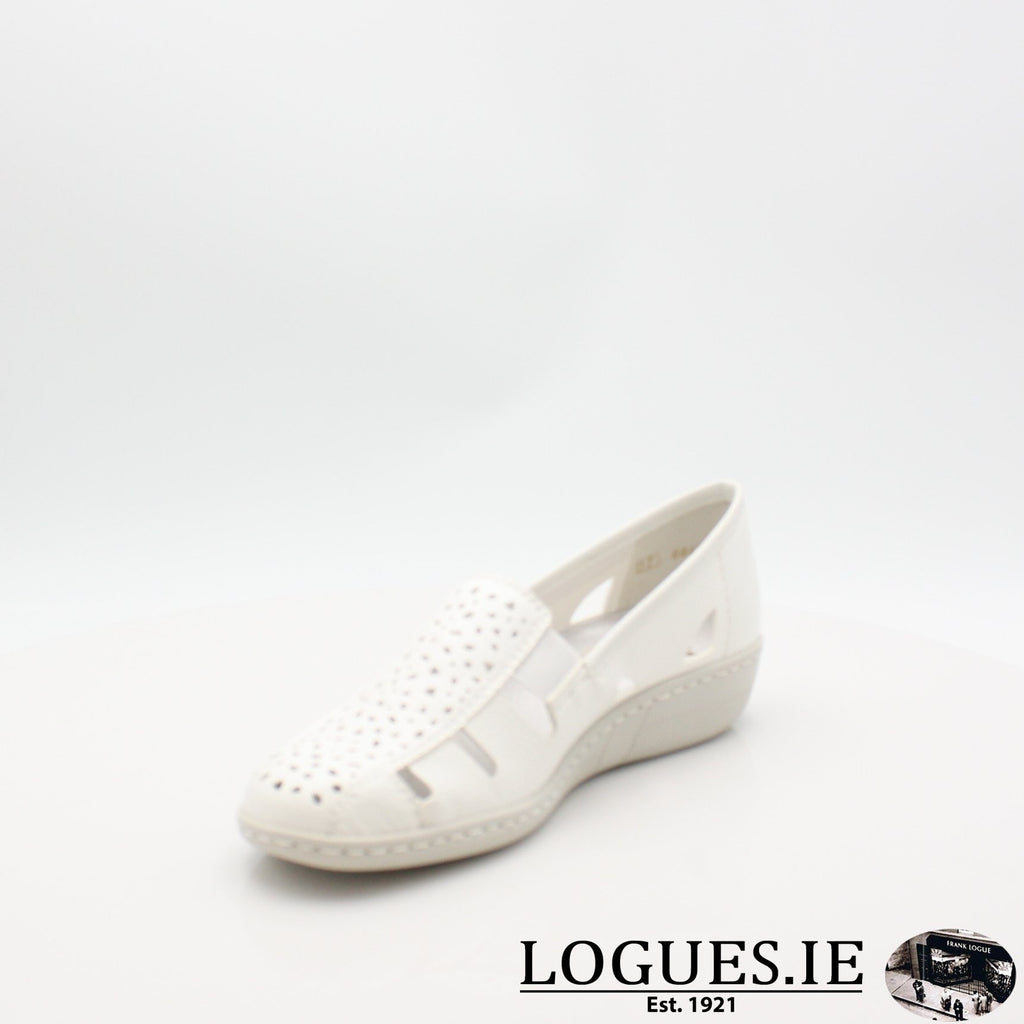 49365  RIEKER 19LadiesLogues Shoesweiss 80 / 41
