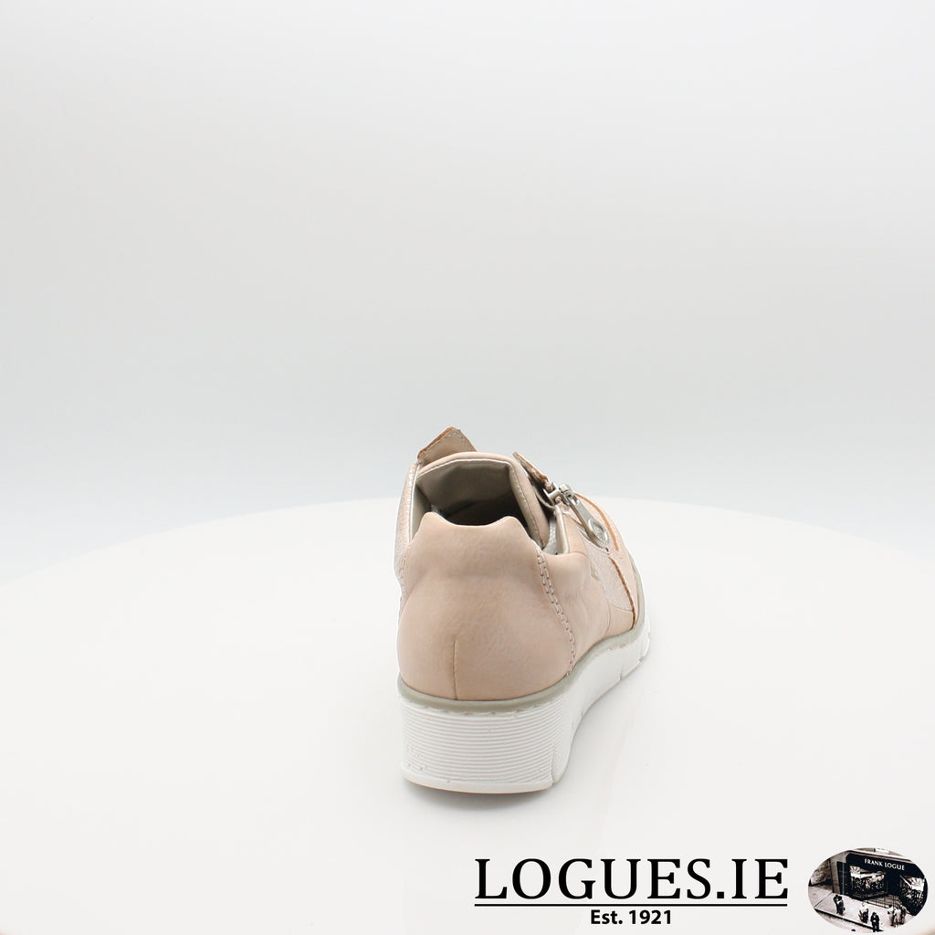 53714 Rieker 20, Ladies, RIEKIER SHOES, Logues Shoes - Logues Shoes.ie Since 1921, Galway City, Ireland.