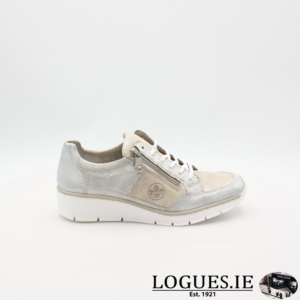 53716 Rieker 20, Ladies, RIEKIER SHOES, Logues Shoes - Logues Shoes.ie Since 1921, Galway City, Ireland.