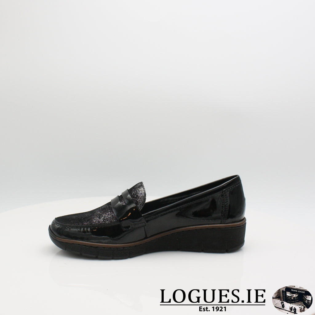 53732 RIEKER 19, Ladies, RIEKIER SHOES, Logues Shoes - Logues Shoes.ie Since 1921, Galway City, Ireland.