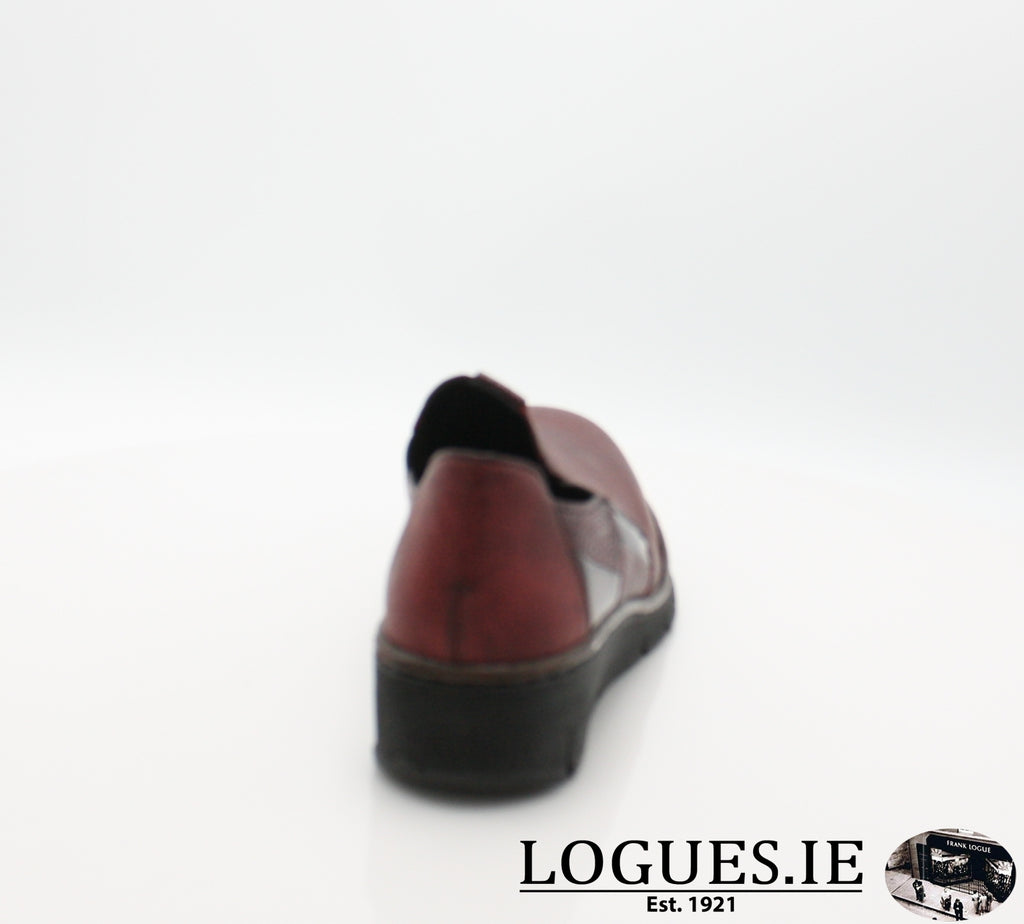 53754 RIEKER, Ladies, RIEKIER SHOES, Logues Shoes - Logues Shoes.ie Since 1921, Galway City, Ireland.