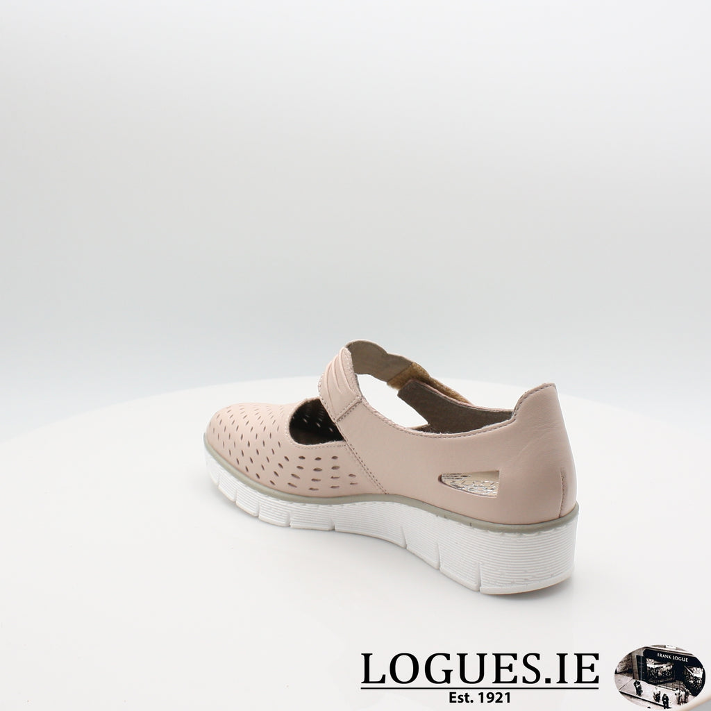537J7 Rieker 20, Ladies, RIEKIER SHOES, Logues Shoes - Logues Shoes.ie Since 1921, Galway City, Ireland.
