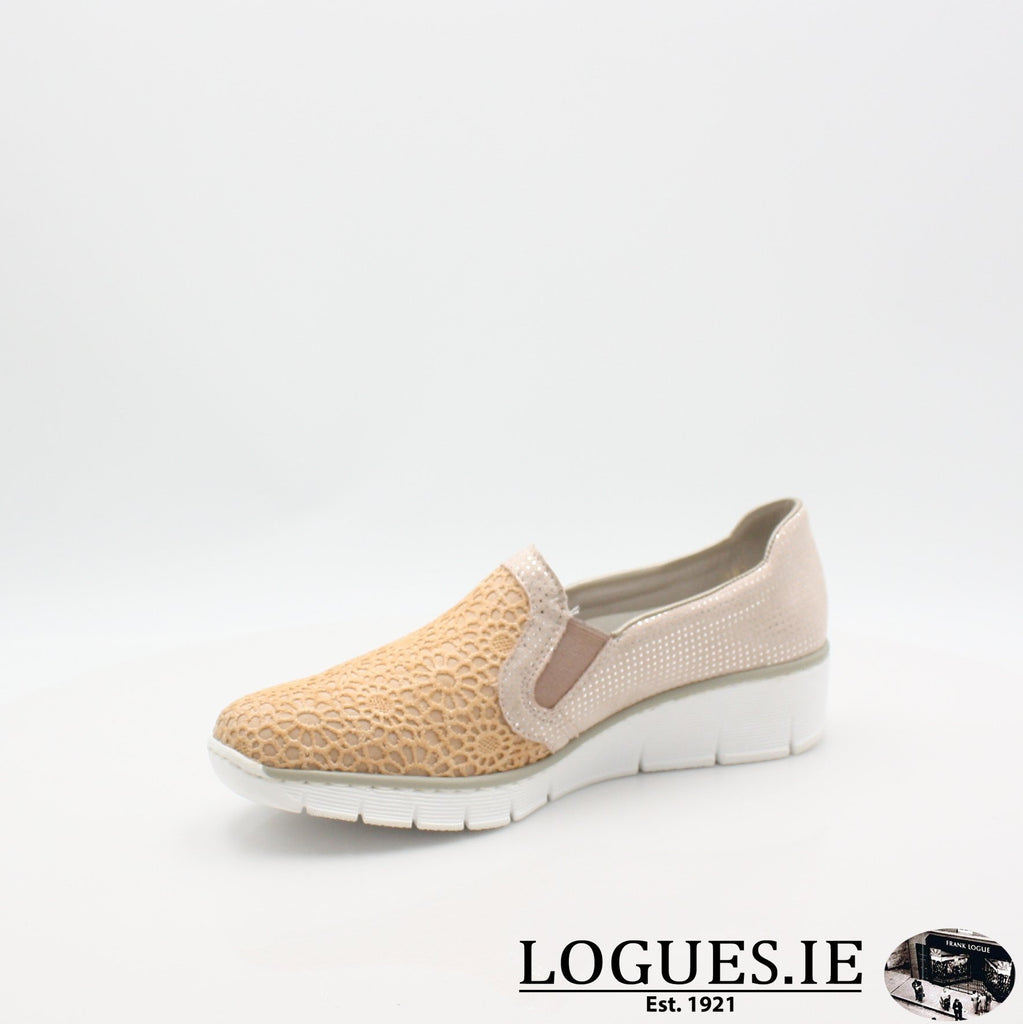 537T4  RIEKER 19LadiesLogues Shoes