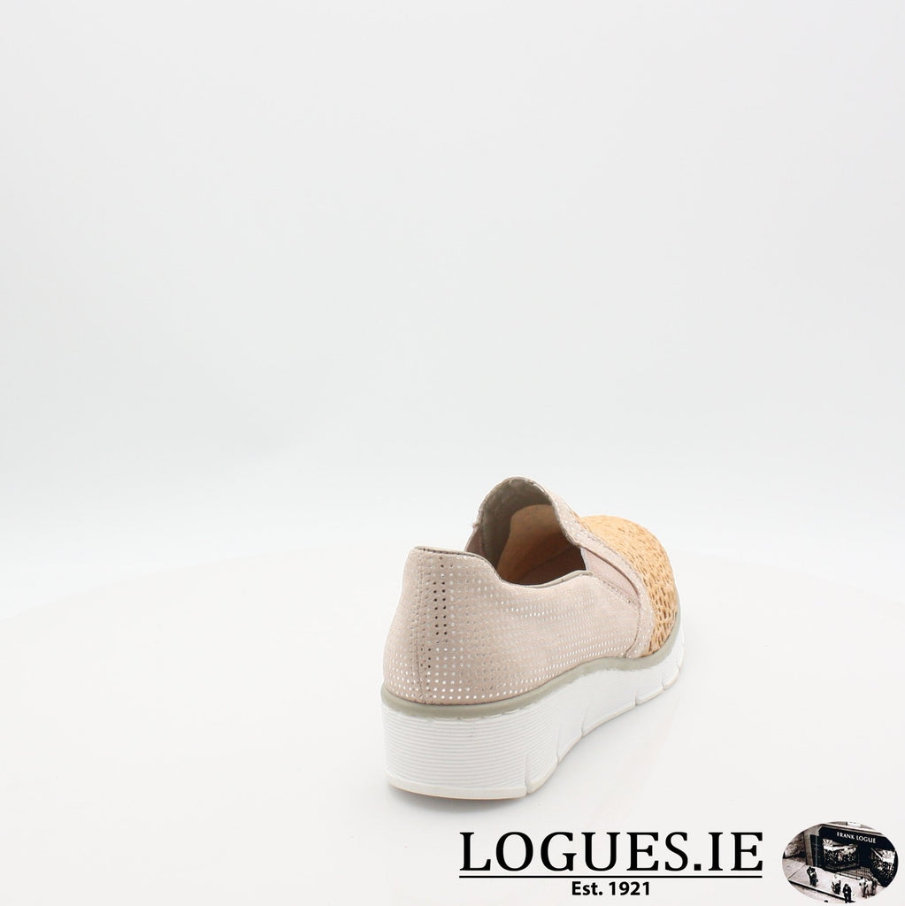 537T4  RIEKER 19, Ladies, RIEKIER SHOES, Logues Shoes - Logues Shoes.ie Since 1921, Galway City, Ireland.