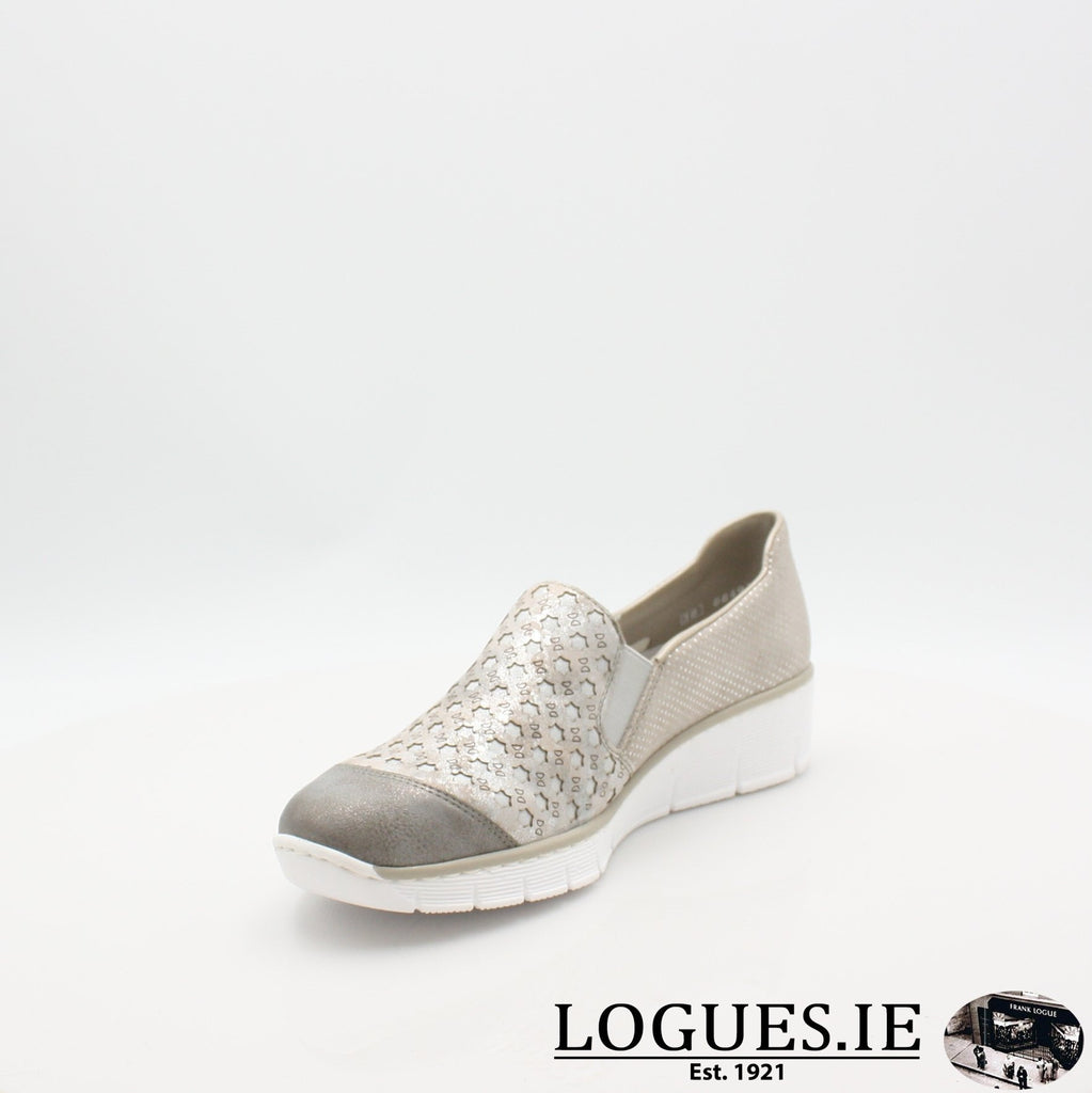 537W4  RIEKER 19LadiesLogues Shoes