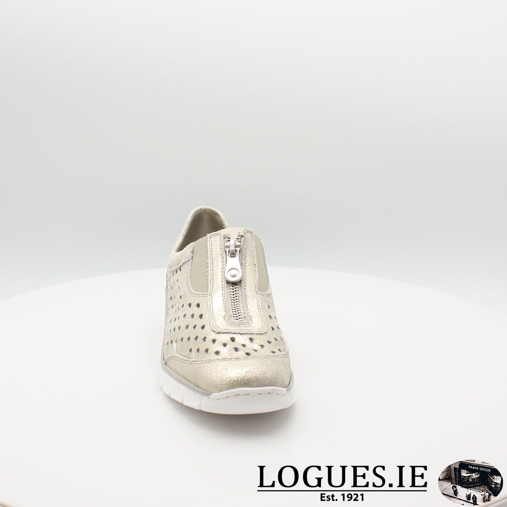 537F6 Rieker 20, Ladies, RIEKIER SHOES, Logues Shoes - Logues Shoes.ie Since 1921, Galway City, Ireland.