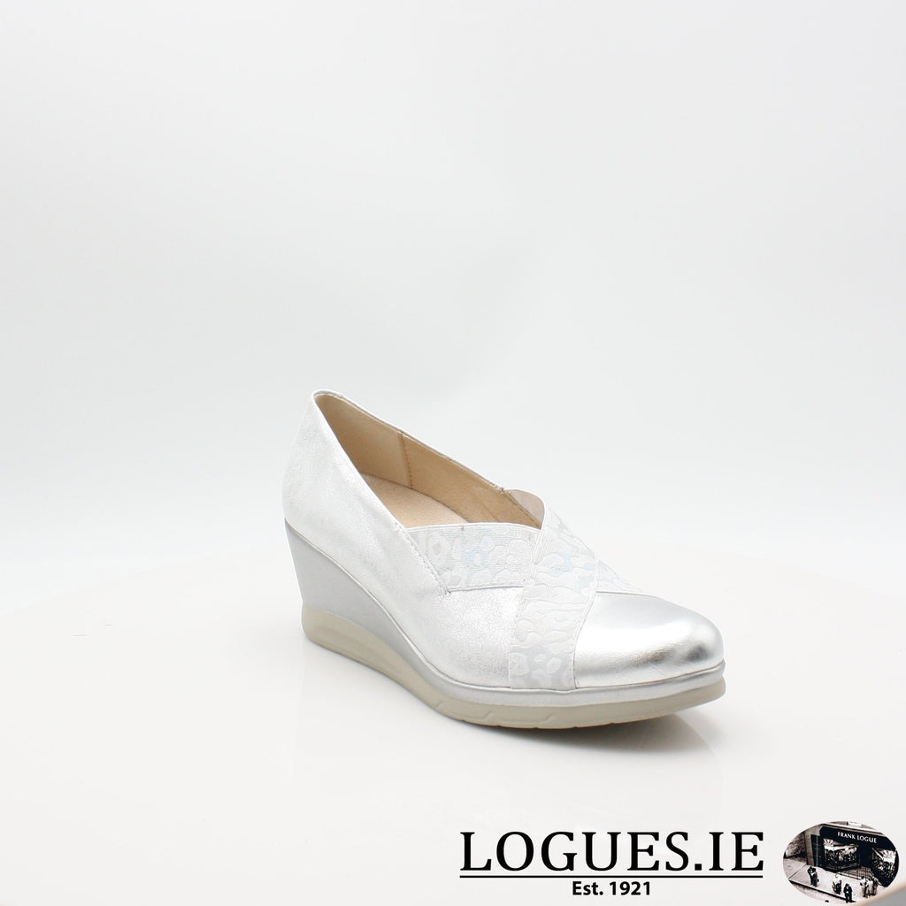 5522 PITILLOS S19LadiesLogues ShoesPLATA / 4 UK -37 EU - 6 US