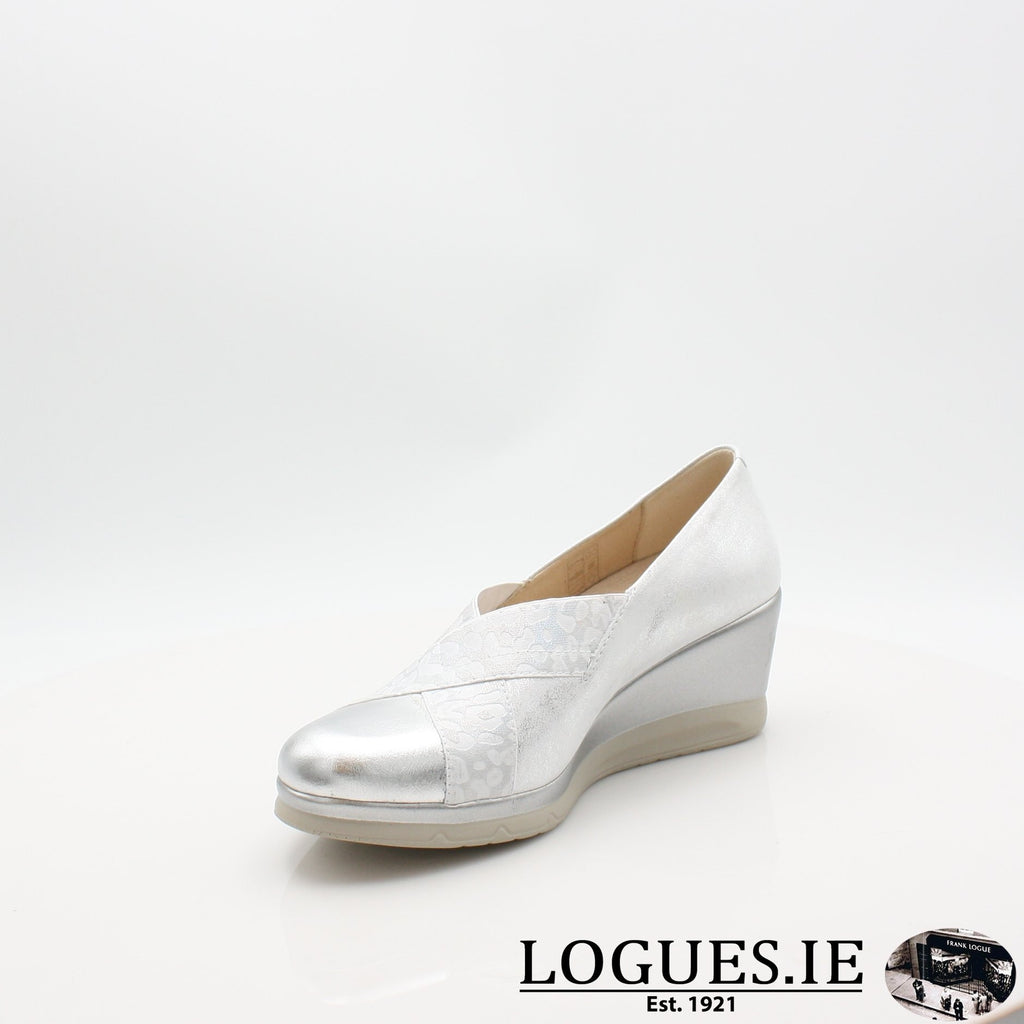 5522 PITILLOS S19LadiesLogues ShoesPLATA / 5 UK- 38 EU- 7 US